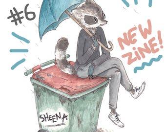 Sheena Zine / Comic Vol. 6 NEW!