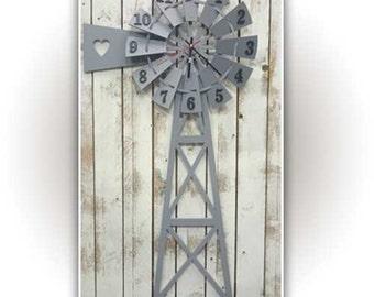 Windmill Clock With 1000 x 500mm
