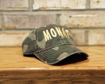 Monat Hat, embroidered Monat baseball hat, personalized Monat Cap, Monat Global, Monat Movement, boss lady, hair care business hat, Monat