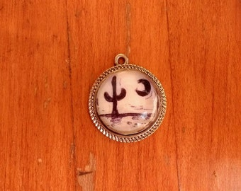 Desert Night Pendant Necklace