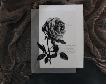Vellum Sheet Assembly / Semi-Custom Wedding Invitations / Wedding Stationery / Botanical Wedding Invitations