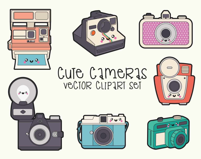 Premium Vector Clipart Kawaii Camera Clipart Kawaii