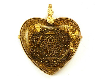 Within the Mind (collaboration with Gusherz McCrusherz and Enlighten Clothing) - Orgone Pendant