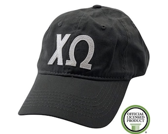 Chi Omega - Felt Letter Hat