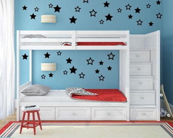 More Colors. Star Wall Decals ...