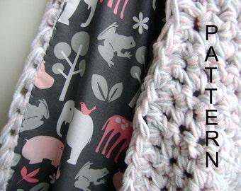 Crochet  Baby Blanket Pattern - Easy Advanced Beginner Pattern ON SALE - Reg 7