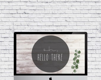 Oh, Hello There | Desktop Background
