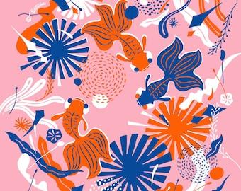 Swish Goldfish Handkerchief