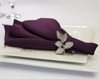Plum Napkin Polyester