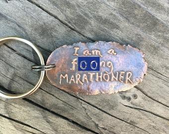 SALE I am a marathoner Runner Gift under 25 strength humor I love running