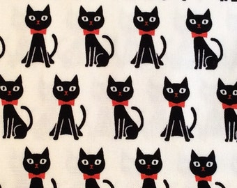 Half m of KOKKA cotton cat heavy weight fabric.