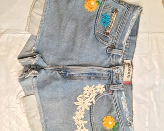 Upcycled Levi's 550's