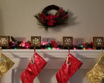 Custom stocking hangers