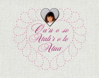 I am a Child of God Personalized - Samoan - Oa'u o se Atual'i o le Atua - Wall Hanging in Samoan Baby Girl,  LDS, Christian, Baptism Gift