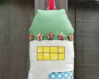Tooth Fairy Pillow, Tooth Fairy House Pillow