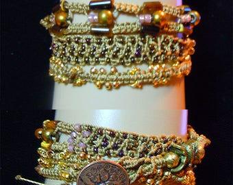 Triple Wrap 105 Bracelet