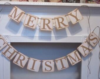 Merry Christmas Banner Holiday Banner Christmas Season