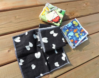 baby wipe - washcloths flannel