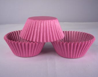 48 Orchid Purple Standard Size Greaseproof Paper Cupcake Liners Baking Cups
