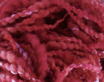 Summertime: art yarn handspun