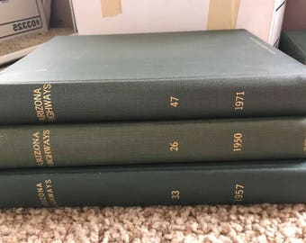 AZ Highways, 3 Editions: 1950, 1957, and 1971