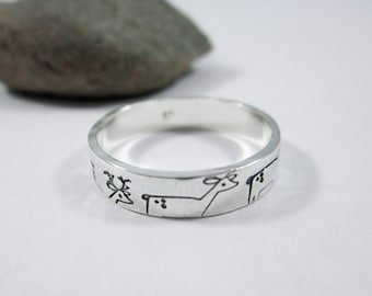 Whimsical Deer Ring