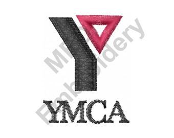 YMCA Logo - Machine Embroidery Design