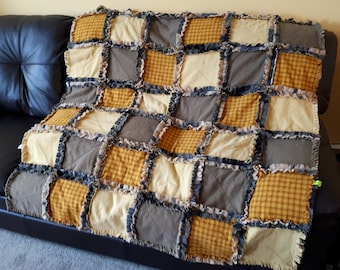 Country Charm II Rag Quilt
