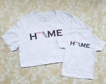 Florida Home - Sunshine State Shirt - Hello Sunshine - Vacation Shirt - Florida Tee - graphic t-shirt