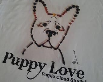 French Bulldog Original Art Tshirt