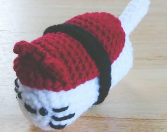 Sushi Cat Amigurumi Plush Toy