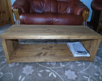 BRAND NEW Rustic Handmade TV Stand/ Coffee Table/ - Many Sizes*