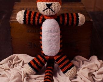 Handmade Crochet Hobbes *Made to Order*