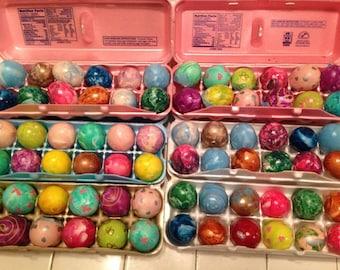 CASCARONES, Confetti Eggs 6 Dozen - Fiesta, Party, Easter Eggs FUN