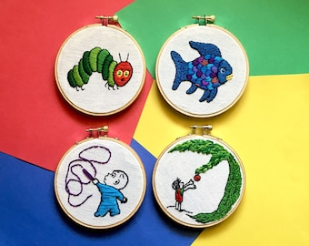 Nursey Embroidery Hoop Collction