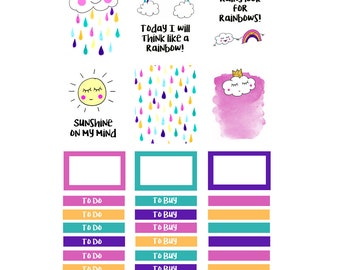 April Showers Planner Box Stickers 003