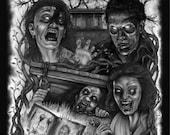 The Evil Dead B/W Montage...