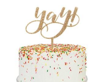 Yay! Cake Topper