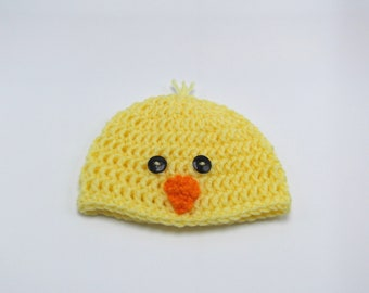Spring Chick Hat - newborn baby - ready to ship