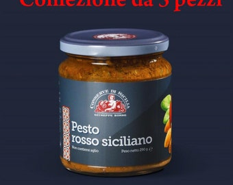 Sicilian Red Pesto-pack of 3 pieces