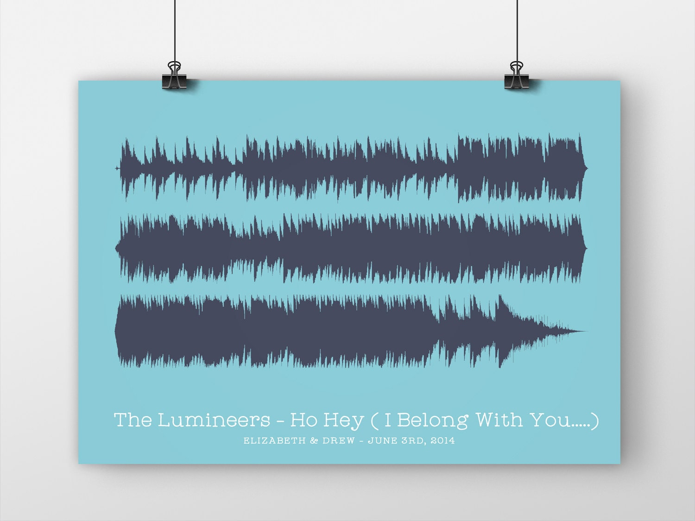 Soundwave print lyric our song your favorite song lyrics