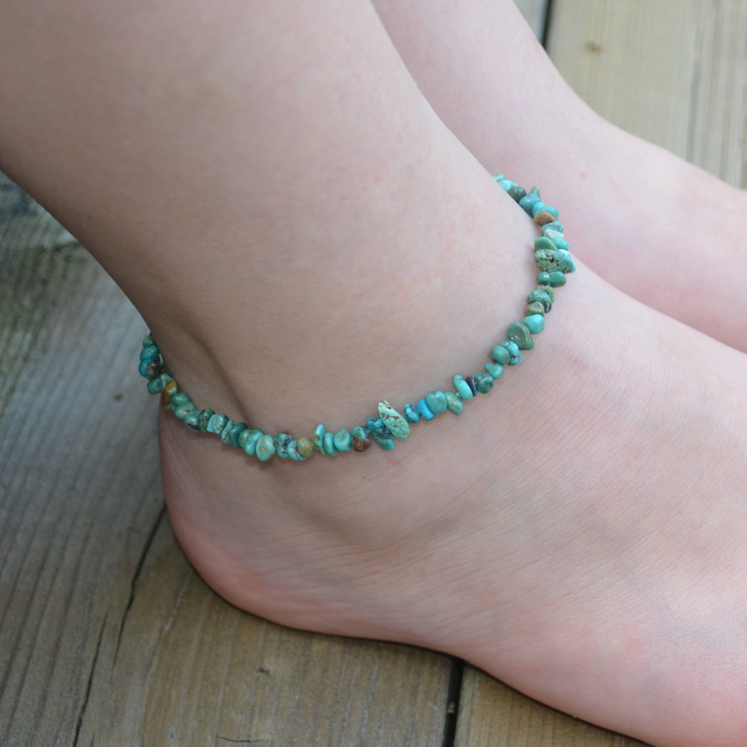 single magnetite brazilian march pin drug aquamarine blue magnetic jewelry anklet birthstone ladies light