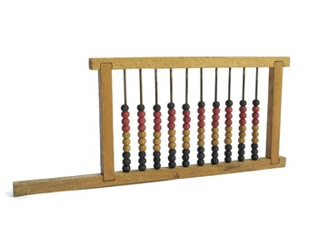 Antique Wooden Abacus Frame.
