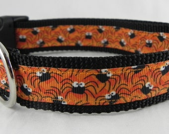 Chevron Spider Dog Collar
