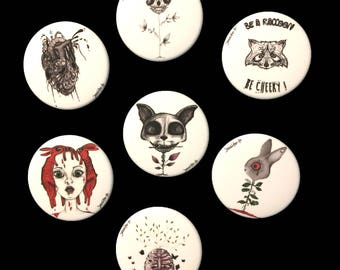 Illustrated badges (45mm)