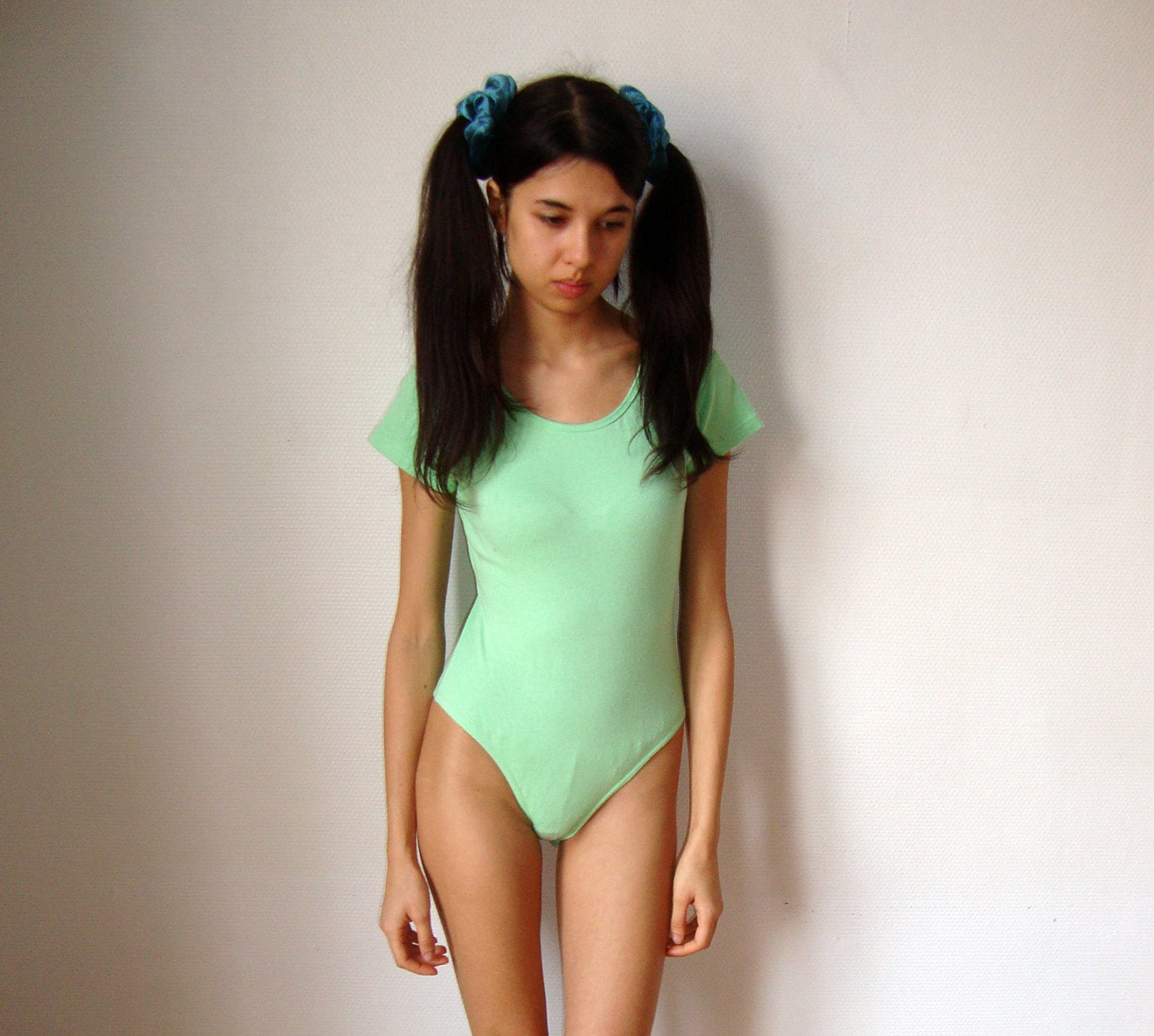 Pastel Green Body Lingerie Underwear Sexy Green