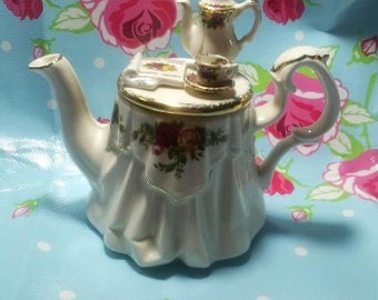 Royal Albert mini teapot