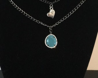 Layered necklace-different colors