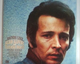 Herb Alpert The Tijuana Brass - Sounds Like - Vintage Vinyl Record Album