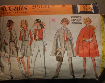 McCall's Pattern Misses and Junior Separates Size 11
